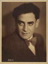 Aram Alban. Aufnahme des italienischen Tenors und Komponisten  Tito Schipa