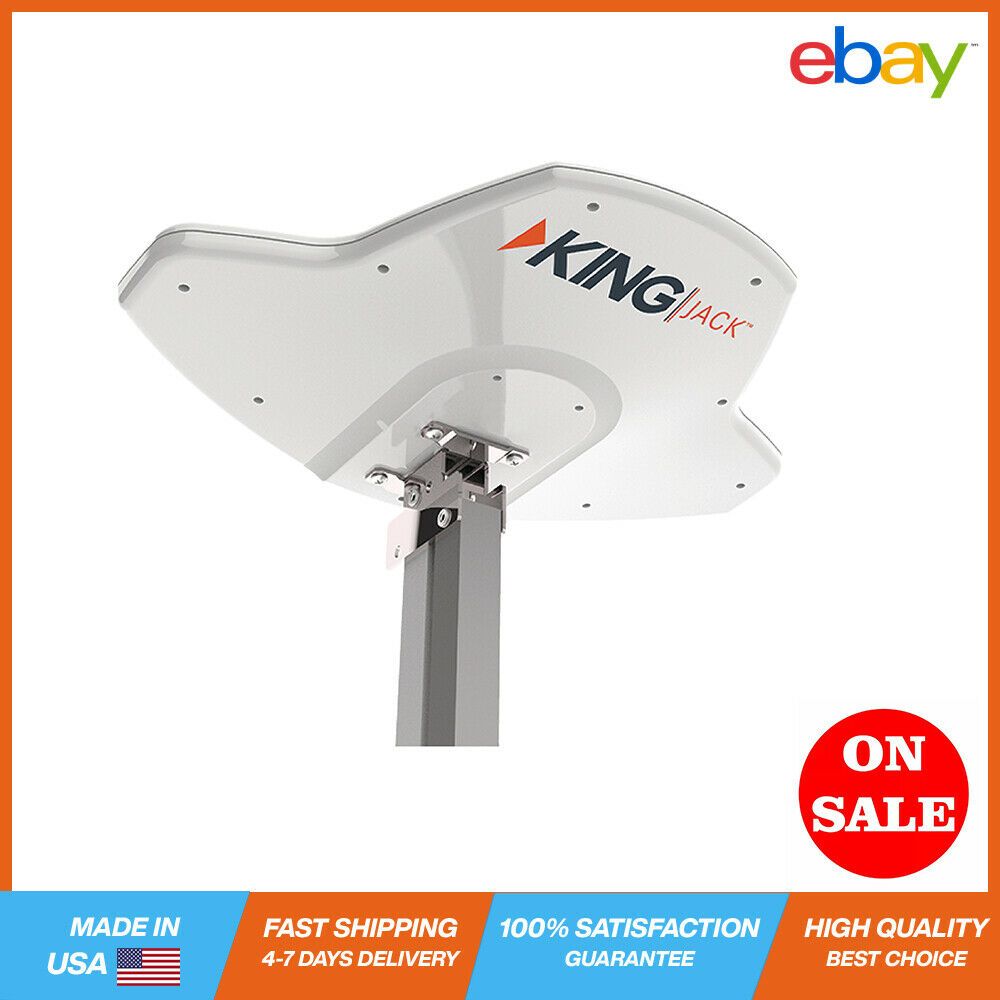 KING Jack RV Digital HDTV TV Antenna Replacement Head Antenna Over-the-Air DTV N. Available Now for 46.08