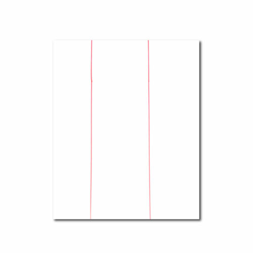 """Inkjet T-shirt Light for Heat Press 8.5/"""" x 11/"""" 50 Sheets  DOUBLE RED LINE"""