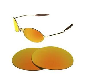 c09d98e601 NEW POLARIZED CUSTOM FIRE RED LENS FOR OAKLEY E-WIRE 1.0 SUNGLASSES ...