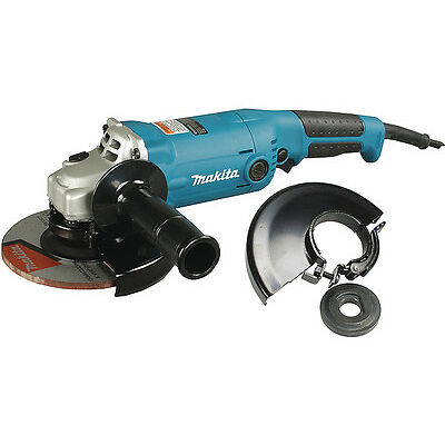 Makita GA6010X 10.5 Amp 5 in./6 in. Angle Grinder with Lock-On Paddle Switch
