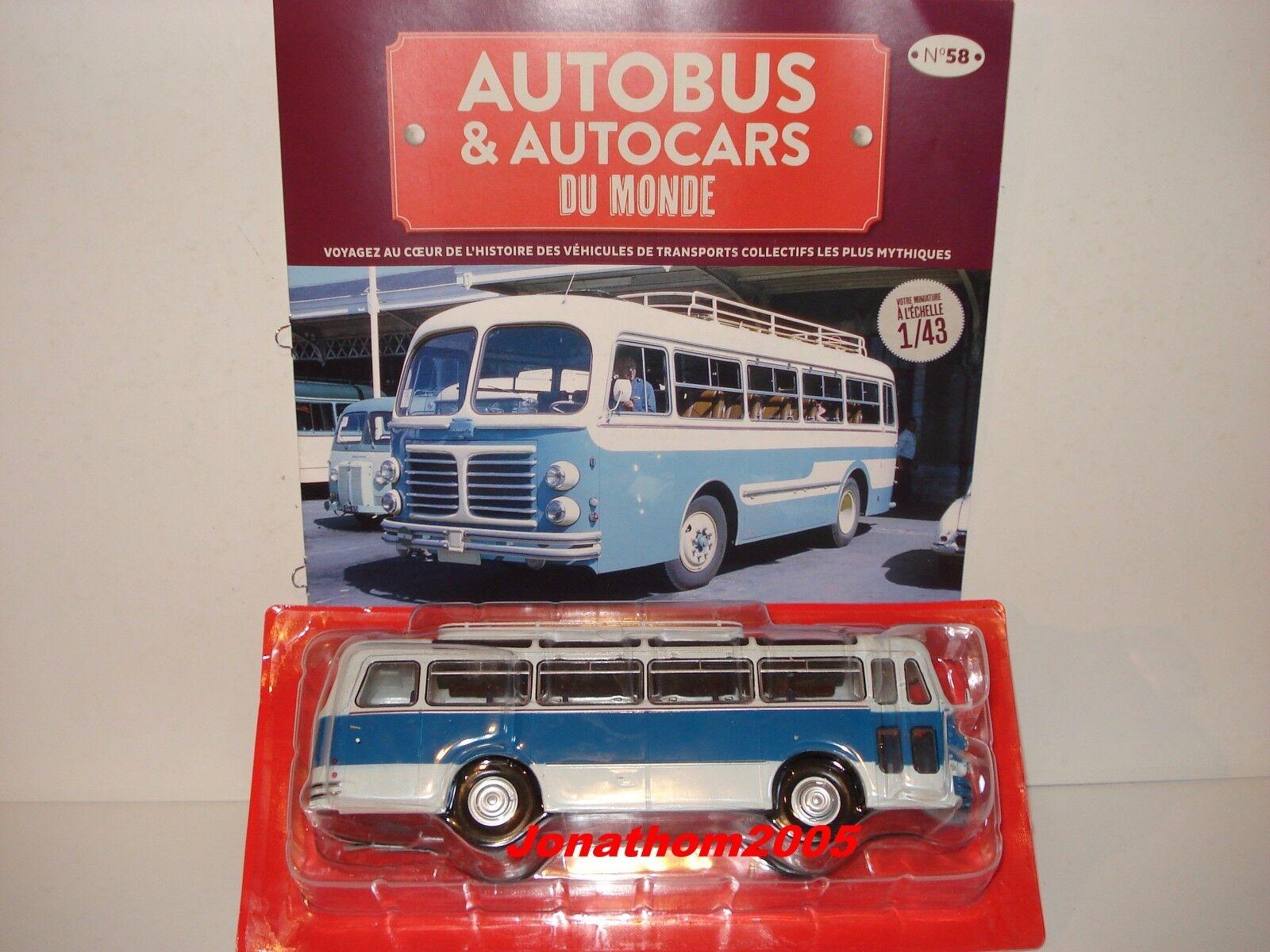bilbuss OCH bilbilS DU MONDE FLIRAT Y 55 - FRANCE 1956 au 1  43 FRAMSTÄLLNING