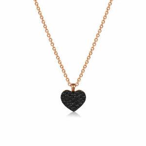 Herz-Anhaenger-Diamant-aus-Gold-750-18-Karat-Rotgold-mit-Kette-42-45-cm-Collier