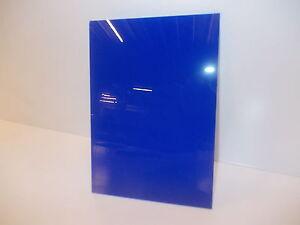 Bleu 3mm Perspex Acrylique L'altuglas Feuille De Matière Plastique Panneau A5 A4 A3-afficher Le Titre D'origine