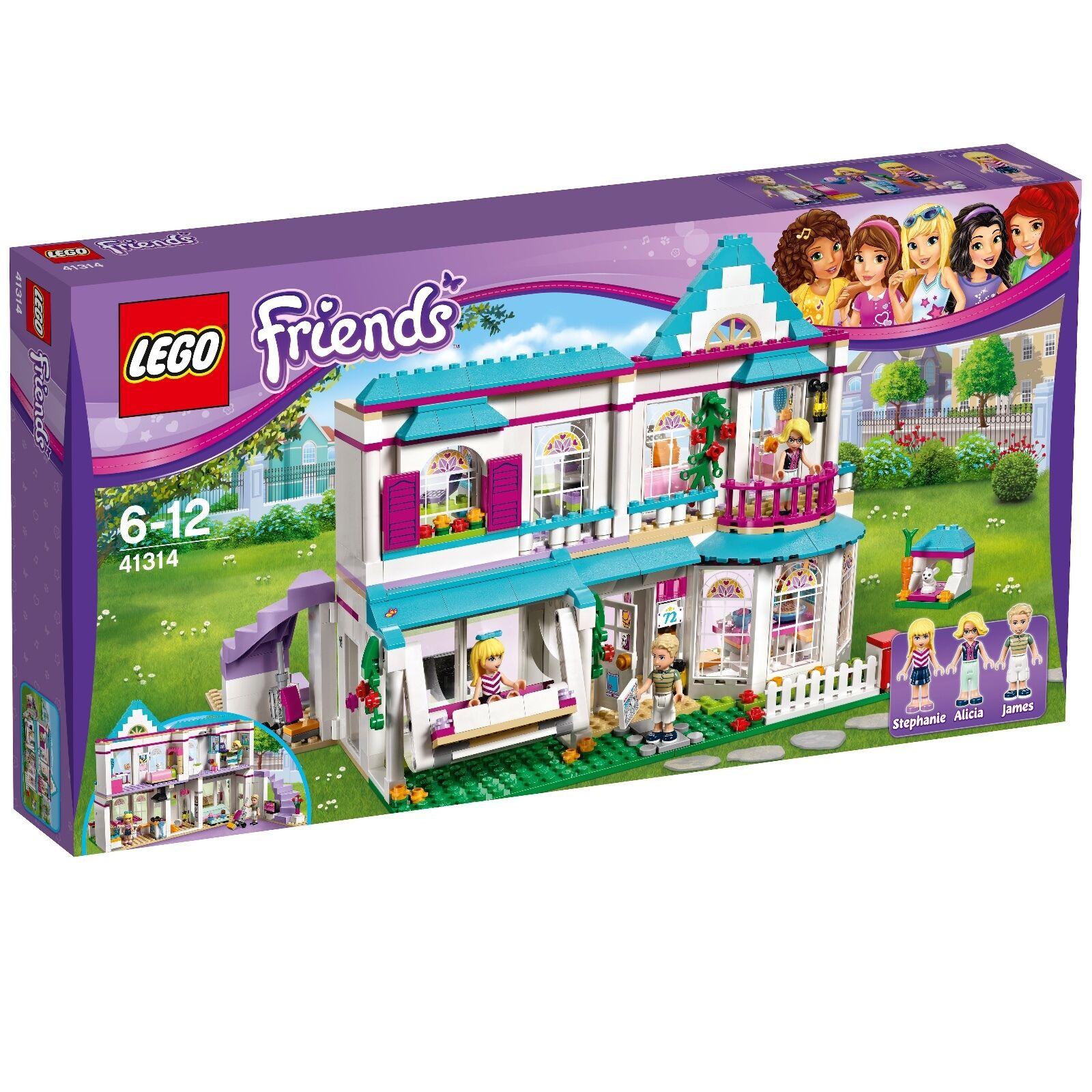 LEGO ® Friends 41314 Stephanie Maison Nouveau ovp_41314 Stephanie's House New En parfait état, dans sa boîte scellée
