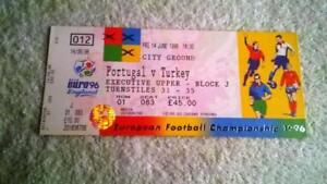 EURO-1996-TICKET-UNUSED-PORTUGAL-TURKEY