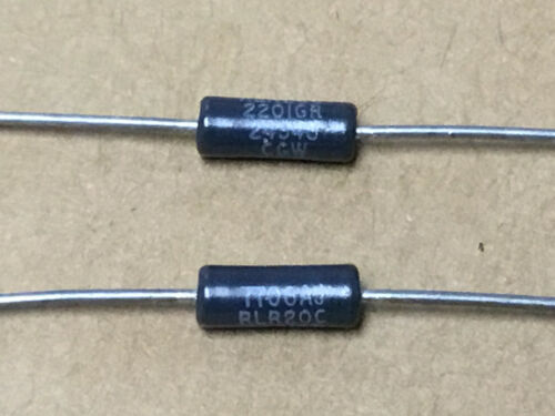 CGW  RLR20C2201GR  Metal Film Resistors  2.2K Ohm 2±/% 2 PC