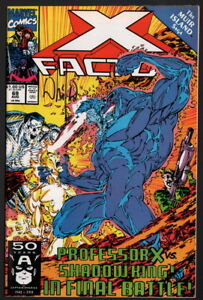 X Factor 69 Signed By Whilce Portacio Cover And Art Marvel Comics X Men Ebay