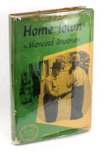 Signed-First-Edition-1940-Home-Town-Sherwood-Anderson-Farm-Security-Agency-HC-DJ