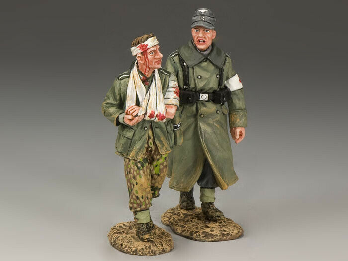 KING AND COUNTRY COUNTRY WSS174 WS174 WALKING WOUNDED - 1 30 SCALE GERMAN FORCES WWII