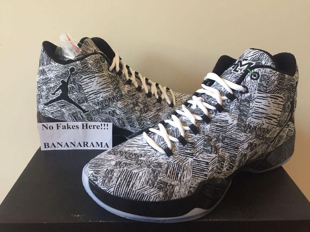 Nike Air Jordan XX9 29 BHM noir History Month US10 UK9 EU44 DS