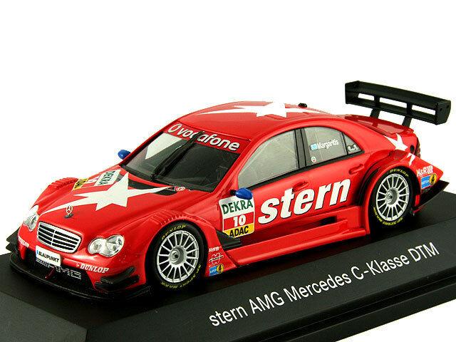 Modelo de escala 1 43, Mercedes-Benz Clase C  Stern  - EQUIPO AMG Mercedes-DTM 2007