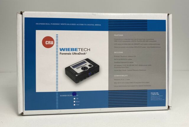31350 3109 0000 Forensic Ultradock Fudv5 5 Drive Dock V5 5 Dataport For Sale Online Ebay