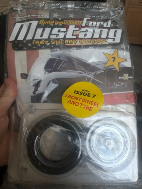 DEAGOSTINI BUILD YOUR OWN FORD MUSTANG 1967 SHELBY GT-500 ...