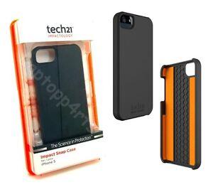100-Genuine-Tech21-D30-Impact-Snap-Case-Cover-For-iPhone-5s-Se-5-Black-T21-1810
