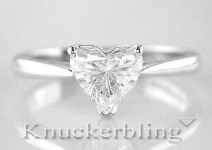Diamond-Solitaire-Platinum-Engagement-Ring-Heart-Shape-0-70ct-Certified-D-IF-VG