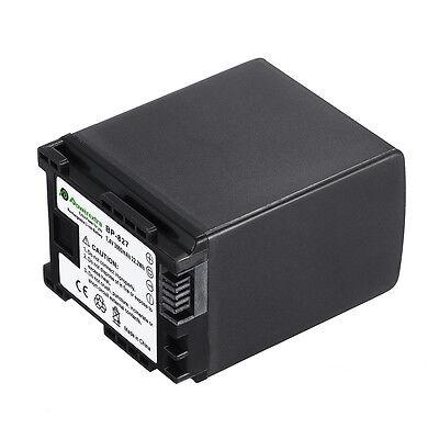 3000mAh 7.4V BP-827 Battery For Canon BP-827 BP827 Vixia HF10 HF100 HF11