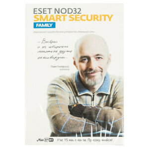 Antivirus ESET NOD32 Smart Security Family 3PC 1 year ...