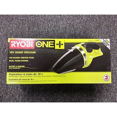 Ryobi P713 ONE+ 18V 18-Volt Lithium-Ion Cordless Hand Vacuum, New in Box
