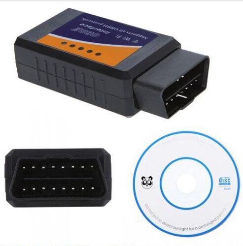 ELM327 OBDII OBD2 WiFi Car Diagnostic Wireless Scanner Tool iOS iPhone iPad iPod
