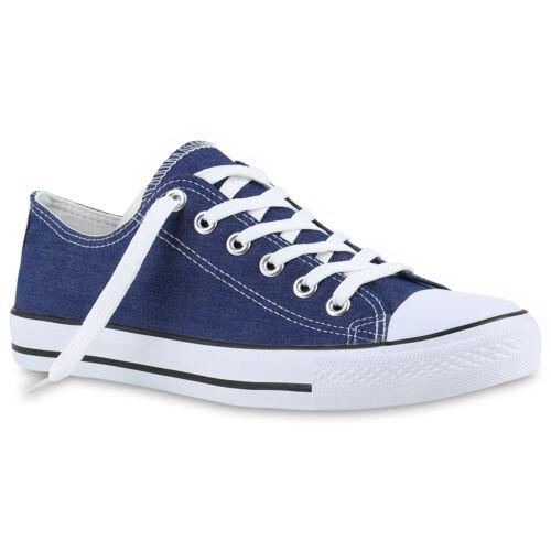 Herren Sneakers Stoffschuhe Schnürer Sportschuhe Low Sneaker 816742 Trendy