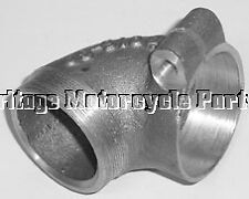 new ALLOY AIR FILTER ELBOW connector JOINT for BSA M20 pt no 65-9198 gr8 quality