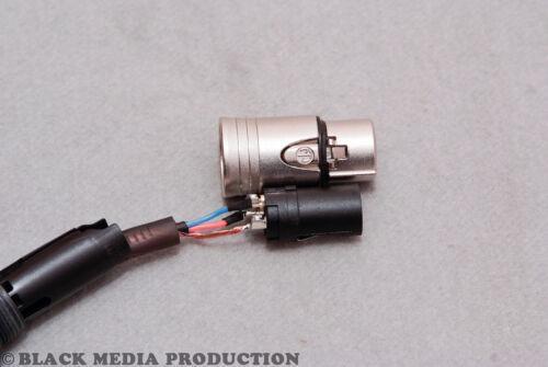 XLR Mikrofonkabel SC-Club Black Zilk retro StilNeutrik Stecker XX-Serie *NEU*