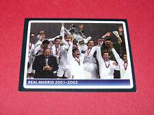 382 REAL MADRID 2001-2002 UEFA PANINI FOOTBALL CHAMPIONS LEAGUE 2006 2007