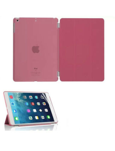 """Ultra Thin Magnetic Leather 2 Piece Smart Case Cover Stand Apple iPad 9.7/"""" 2017"""