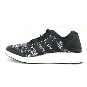 new style 65f32 2c2b2 Image is loading Adidas-Women-039-s-Pure-Boost-Core-Black-