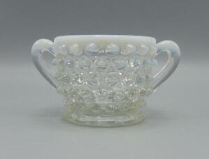 Fenton-Sugar-Bowl-Opalescent-Hobnail-Small-Miniature