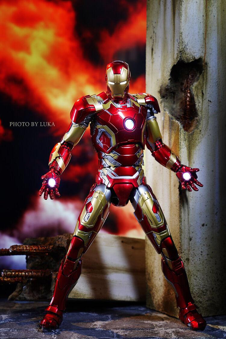 King Artes Ka 19 DFS009 Los Vengadores Edad de Ultron Iron Man Mk 43 Película Figura Muñeco