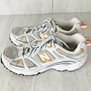 Details about New Balance 473 Running Shoes Womens White Gray Orange Size 6.5 Athletic Sneaker
