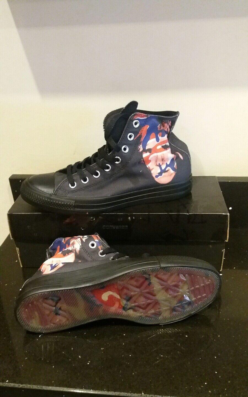 Unisex Converse Chuck Taylor CT Andy Warhol Hi - 149486C - Black Red bluee Traine