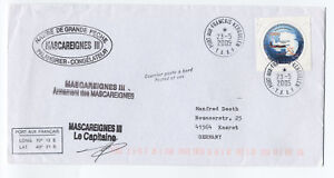 2005-TAAF-Kerguelen-ship-cover-to-Germany-Scott-335-French-Antarctic-L-161