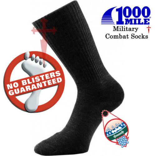 Blister Free guarantee 1000 Mile Worlds Best Military Combat Socks All Sizes
