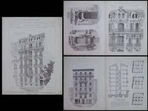 Marseille, 117 Avenue Perier -1910-leonce Muller,nice,3 Avenue Californie,dalmas MatéRiau SéLectionné