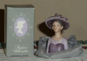 CIRCA 1984  NEW IN BOX AVON PORCELAIN LADY THIMBLE 1947 LADY