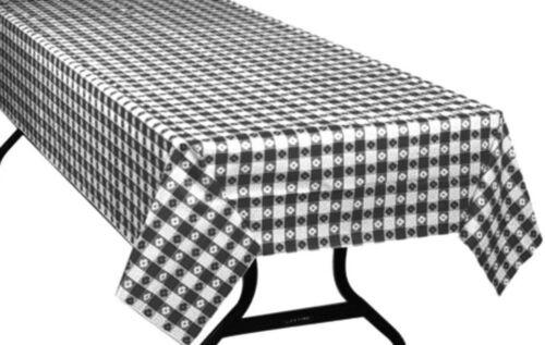 long Picnic Check 300 FT Motifs Vichy plastique Table de banquet Cover Roll environ 91.44 m