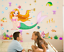 Cartoon-Mermaid-Wall-Sticker-Vinyl-Decal-Home-Decor-Poster-Baby-Girls-Kids-Room thumbnail 3