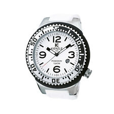KIENZLE Poseidon Large schwarz weiß stahl Armbanduhr K2043152263-00273 LP 119.-€