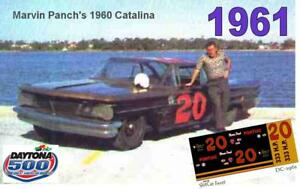 CD-DC-1961-20-Marvin-Panch-1960-Pontiac-Catalina-1-43-Scale-DECALS