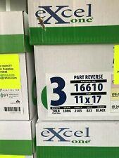 16602 Excel One Carbonless Paper 333 Sets//1000 Sheets 3-Part 8-1//2x11
