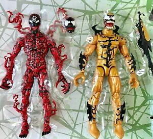 Phagentypisierung-amp-Gemetzel-Marvel-LEGENDS-SPIDER-MAN-Venom-Wave-keine-venompool-BAF