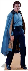Lando Calrissian Star Wars Cardboard Cutout Stand up. Great for Star Wars Fans!