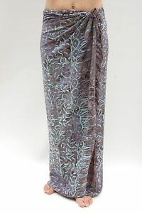 6dc334ec020f7 Image is loading NEW-PREMIUM-QUALITY-CHARCOAL-GREY-SARONG-PAREO-BEACH-
