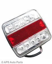 1 x 5 Function Led Light Board Lamp Brake Stop Trailer Van Caravan Truck 12V New