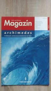 Archimedes-IV-2001-Volk-und-Wissen-Zeitschrift-fuer-Mathematiker-Naturwissensch
