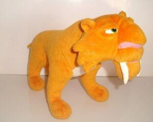 Peluche Plush L Age De Glace Diego Le Tigre A Dents Mattel