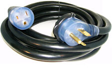 25' 220 Volt 50 Amp Heavy Duty 8/3 Welder Extension Cord MIG TIG Plasma